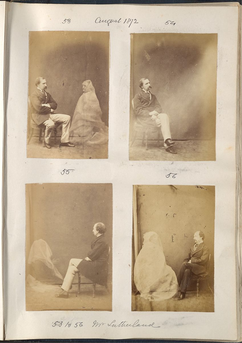 Spirit Photography by Frederick Hudson 1872