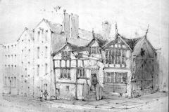 Deansgate, around 1850