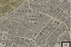 Map of Manchester 1845
